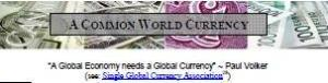 CommonWorldCurrency